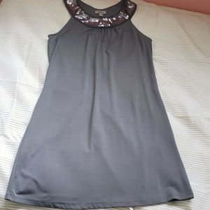 Guess Gray and Silver Dress